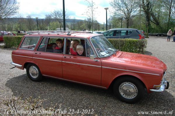 1e Limburgrit Simca Club 22-04-2012